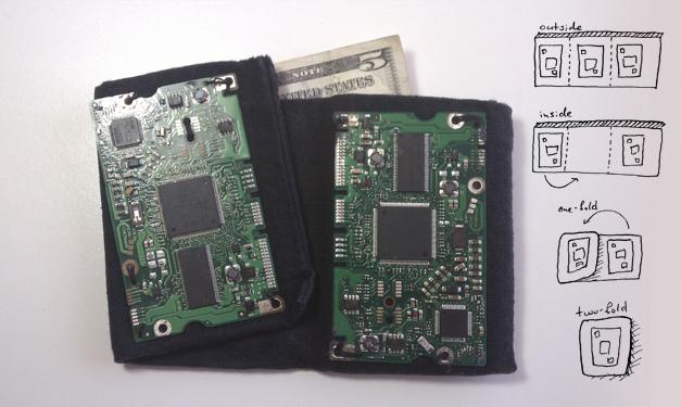 Hard Drive Controller Wallet
