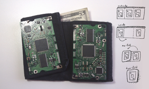 Hard Drive Controller Wallet