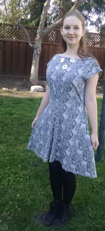Landsat Dress